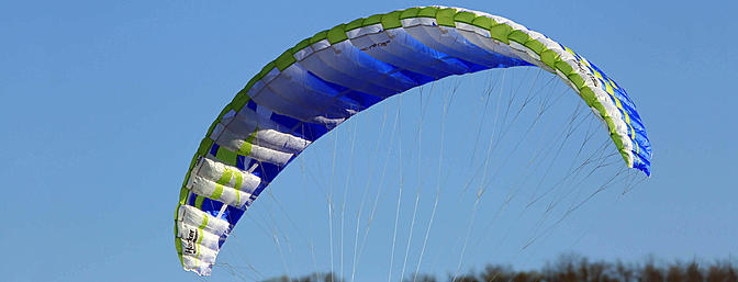 Hacker Nexus 4.33M Hybrid Paraglider Wing