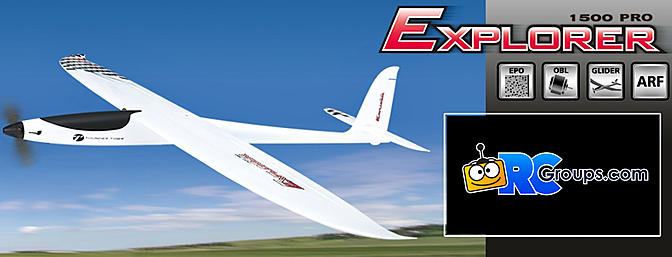 Thunder Tiger Explorer 1500 Pro Sailplane