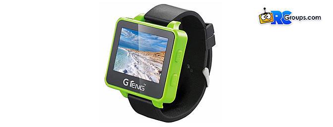 GTeng T909 5.8GHz 32CH FPV Receiver Watch