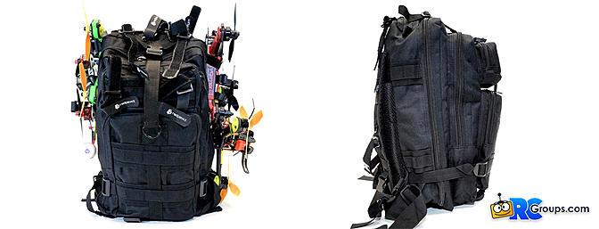 KGB Drone Racing Backpacks
