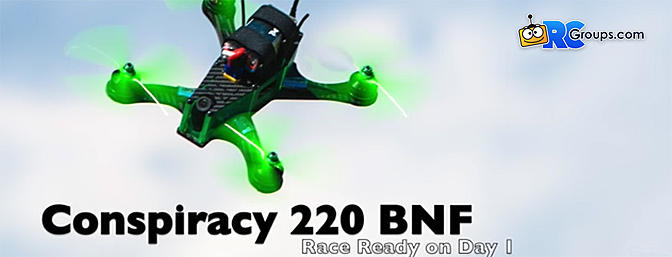 Blade Conspiracy 220 BNF Basic Quad