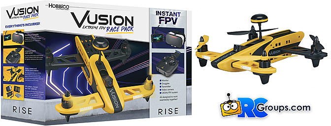 RISE Vusion 250 Extreme FPV Race Pack - RC Groups