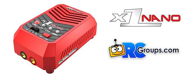 Hitec X1 Nano AC Balance Charger