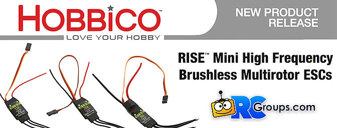 RISE ESC's for Drones