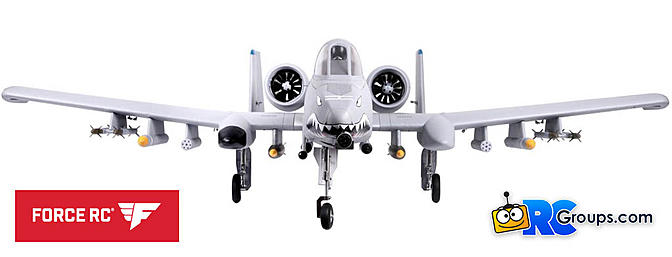 Force RC - FMS A-10 Thunderbolt II