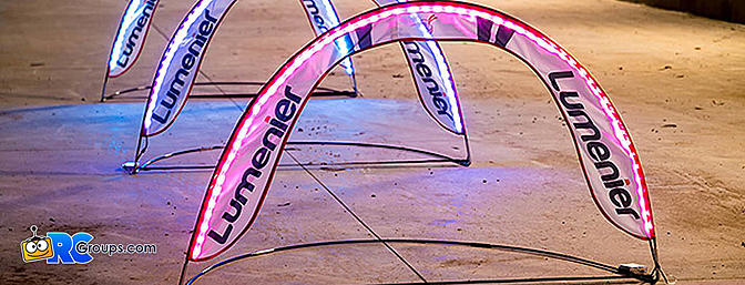 Lumenier Mini RGB LED Pop Up Race Gate
