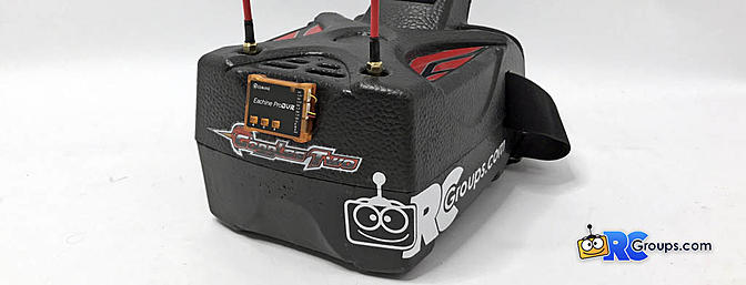 Eachine Goggles Two with DVR