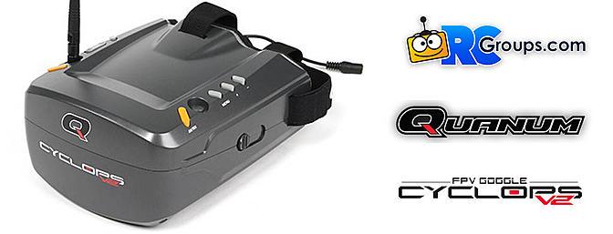 Best Budget FPV Video Goggles - Quanum Cyclops V2