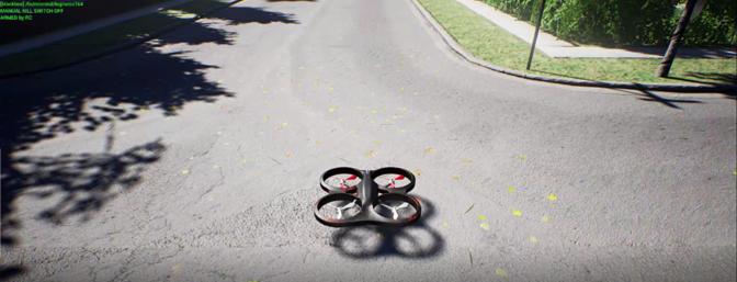 Microsoft's Drone Simulator
