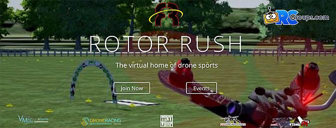 Rotor Rush - Drone Racing Sim