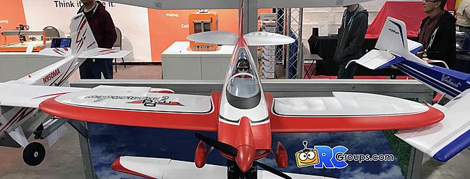 E-flite Commander mPd 1.4M plane