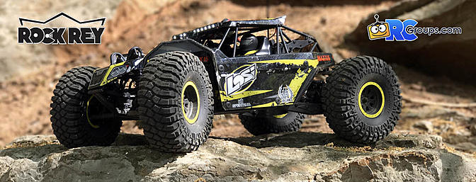 Losi 1/10 Rock Rey 4WD RTR Review with Spektrum FPV