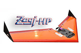 Electric powered Zagi-HP