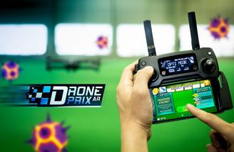 Drone Prix AR app for DJI drones