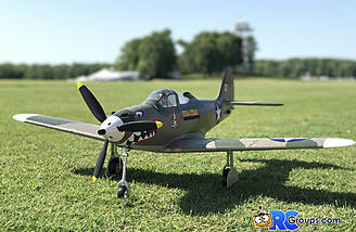 The Force RC P-39 is a great looking bird