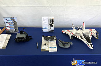 FPV gear on display ready for Joe Nall attendees to check out