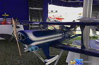 The Kingcraft Pitts Special in the HobbyKing tent at Joe Nall