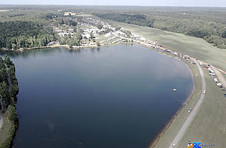 Another shot of the lake and float flying area