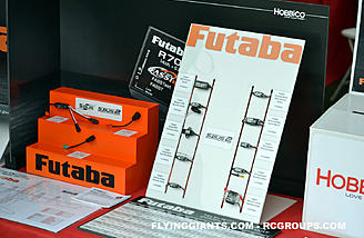 Futaba's line of radio electronics including S.BUS2