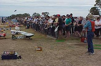Events at the GMAC field are very popular for pilots and spectators