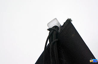 Plug is secured in position and is easily removed for teardown
