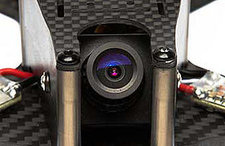 Stealth Conspiracy includes a 700TVL CMOS camera with 0 to 45 degree tilt