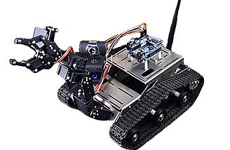 Build, program and control your robot