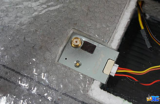 Video transmitter installed in rear bay area