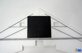 Bottom coroplast cover installed