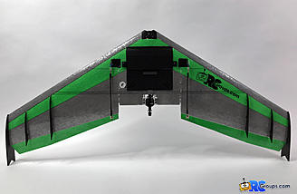 This shows how the elevons should be tapered down toward the center of the wing