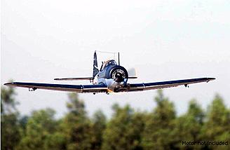Hobbyking Dauntless on a low pass