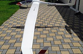 7M Wingspan JS1 Scale Model Sailplane