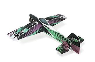The Yak 55 is a 3D aerobatic foamie