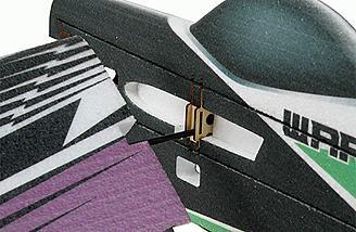 Slide on wings for easy building