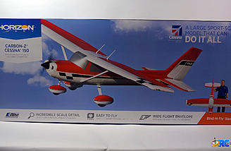E-flite Carbon Z Cessna 150 Box - It's Huge!