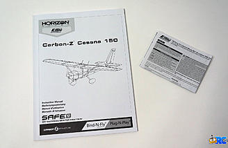 Cessna and ESC manuals included