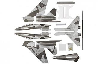 SU-27 kit parts