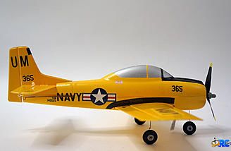 Side view of the T-28 Trojan S