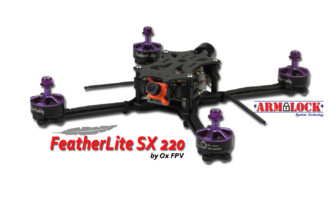 Ox FPV Featherlite SX 220