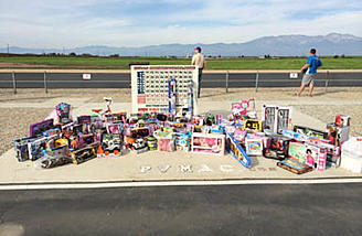 16th Annual Toys for Tots on Dec 3rd