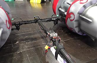Tricopter settings controls the drone