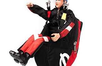 Opale Paramodels Pilot Ben in Red