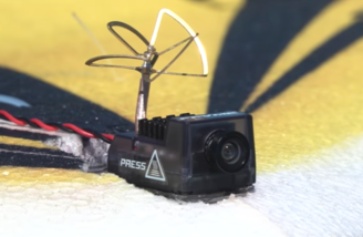 FPV camera mount included