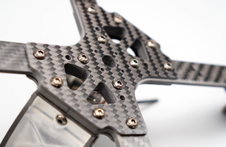 Strong carbon fiber main frame