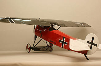 Scale model airplane kit