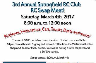 Don't miss the big swap meet in March