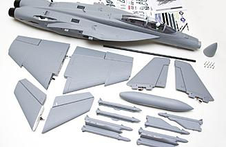 PNP F-18, ready for final assembly