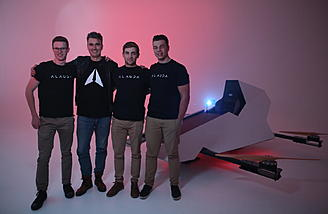 Alauda Team with Mark 1 Airspeeder