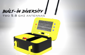 5.8Ghz Diversity Receiver with autoscan