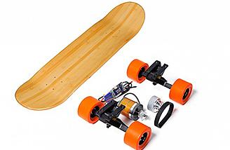 Convert your skateboard to electric power